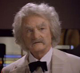 Jerry Hardin as Samuel Clemens ftw!
