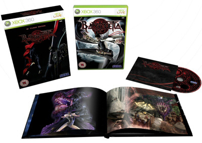 Play.com 'Bayonetta: Climax Edition' UK exclusive Limited Edition set